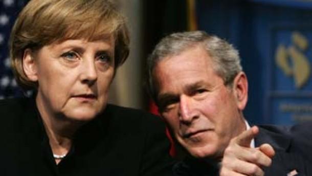 Bush: Die Deutschen mögen einfach keinen Krieg