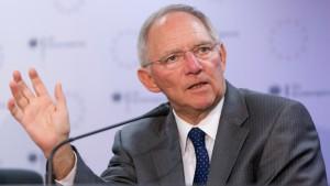 """Schäuble will """"gesamten Instrumentenkasten"""" einsetzen"""