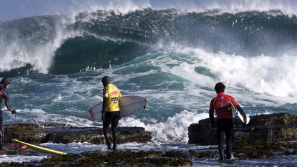 Eiszeit in Thurso - oder Hawaii auf Schottisch