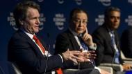 Spitzentreffen in Davos