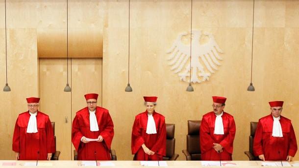 Verfassungsrichter stärken Rechte des Bundestags