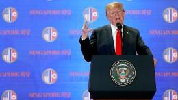 Die Höhepunkte von Trumps Pressekonferenz