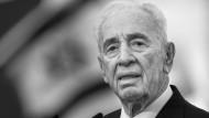 Schimon Peres ist gestorben