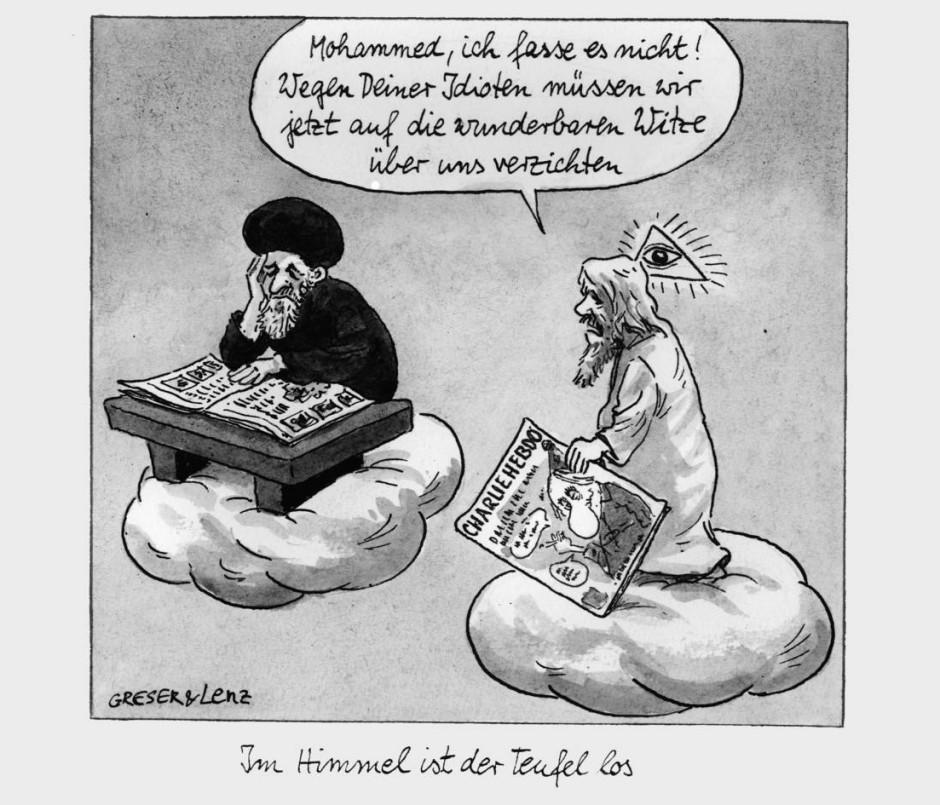 bild zu interview mit den karikaturisten achim greser