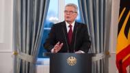 Bundespräsident Gauck: Wir sind Charlie