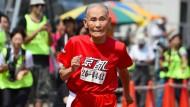 105 Jahre alter Japaner läuft neuen Weltrekord