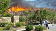 Gefräßige Flammen in Kalifornien
