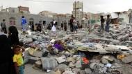 Bombardement des Jemen dauert trotz Waffenruhe an