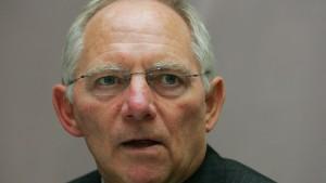 Schäuble will überzogene Boni verhindern