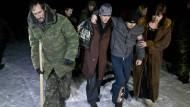 Ukraine und Separatisten tauschen Gefangene aus