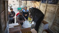 Notvorräte in Aleppo sind aufgebraucht