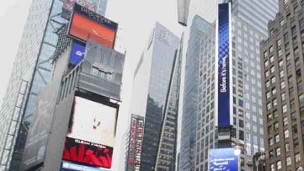 Toiletten für den Times Square
