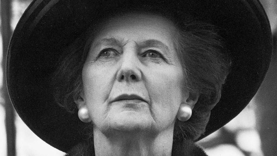 Margaret Thatcher, aufgenommen im November 1999