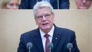 "Gauck: Föderalismus hat sich bewährt"""