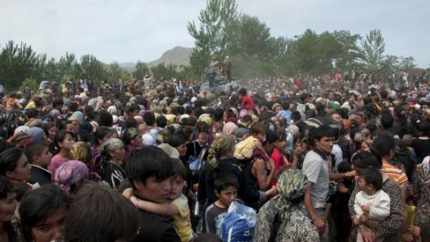 Teilmobilmachung und Kriegsrecht in Kirgistan