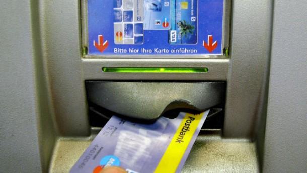 Geldautomat eins