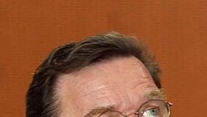 Schröder gibt Regierungserklärung zur Irak-Krise ab