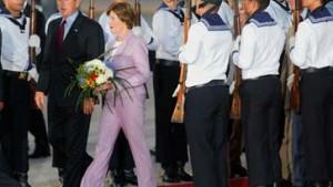Bush in Rostock-Laage gelandet
