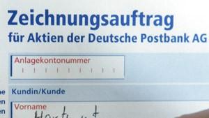 Postbank - die Nachfrage steigt