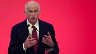 Papandreou spaltet sozialdemokratische Partei