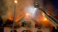 Feuer zerstört geplante Flüchtlingsunterkunft
