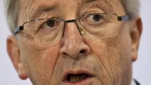 Juncker dringt auf rasche Entscheidung