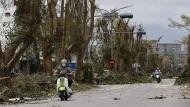 Taifun Nepartak verwüstet Taiwan
