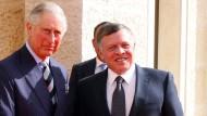 Prinz Charles beginnt Nahostreise in Jordanien