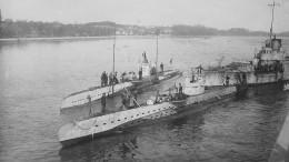 Deutsches U-Boot aus dem Ersten Weltkrieg entdeckt