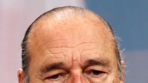 Chirac muss wegen Veruntreuung vor Gericht
