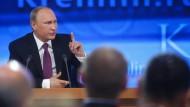 Putin sieht russische Wirtschaft auf stabilem Kurs