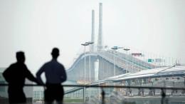 China eröffnet 55-Kilometer-Brücke