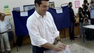 Griechen wählen neues Parlament