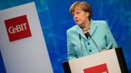Merkel eröffnet CeBit
