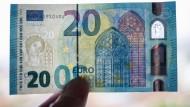 EZB stellt neuen 20-Euro-Schein vor