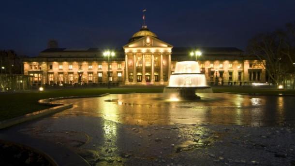 Das Wiesbadener Kurhaus hält wieder dicht