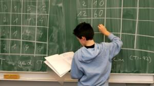 Kreidezeit in den Klassenzimmern