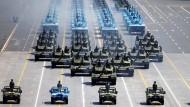 Größte Militärparade in der Geschichte Chinas