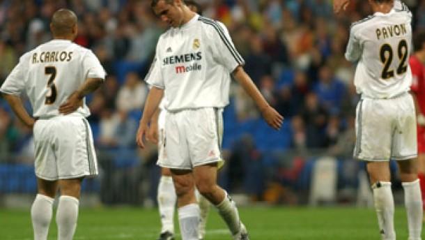 Real Madrid knapp dem Abstieg entkommen