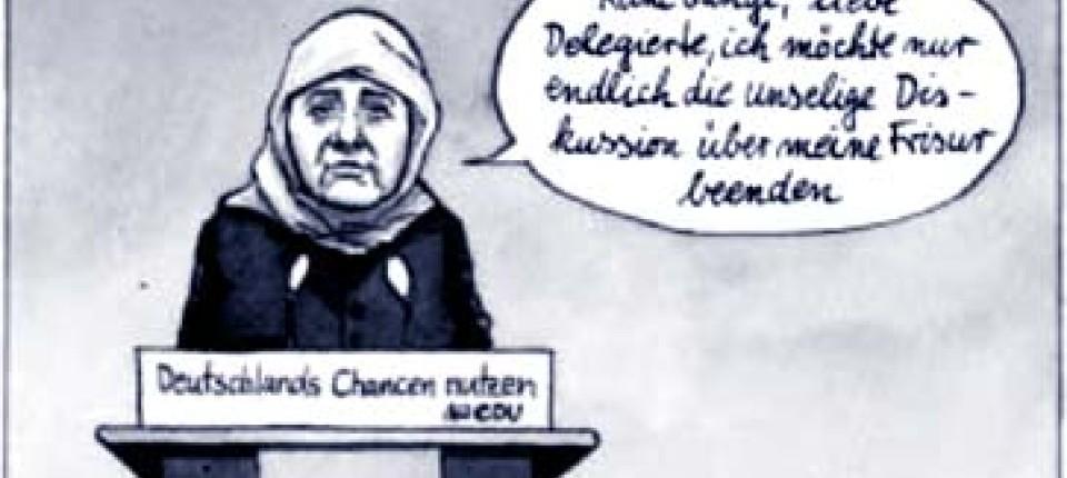 Kommentar Merkels Neues Profil Politik Faz