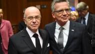 De Maizière fordert besseren Informationsaustausch in der EU