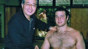 Der Vater des David Beckham im Sumo