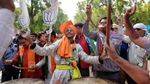 Hindu-Nationalisten steuern auf absolute Mehrheit zu
