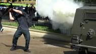 Schwere Ausschreitungen bei Studentenprotesten