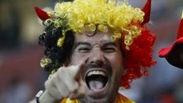 Belgien nach Zitterpartie im Viertelfinale