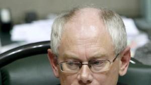Van Rompuy soll neue Regierung bilden