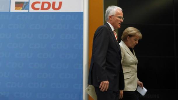 Rüttgers Merkel Abgang