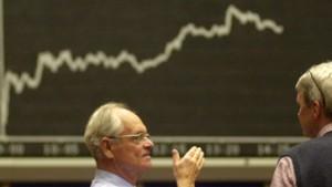 Börsen vom Kriegsverlauf beeinflusst