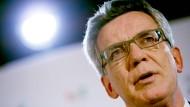 De Maizière fordert grundlegende Reformen bei der Fifa