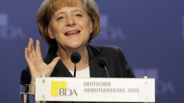 Merkel will Weltfinanzsystem zügig neu ordnen